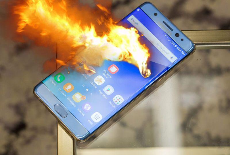 Zakaz wnoszenia urządzeń Samsung Galaxy Note 7 na pokład samolotów