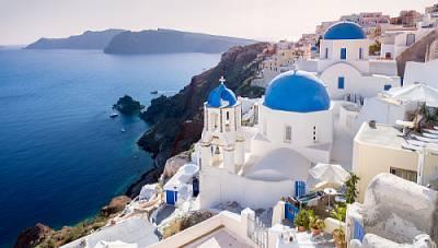Santorini – Perła na Morzu Egejskim.