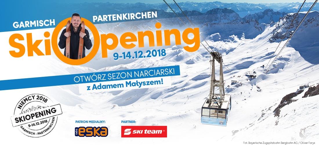 Skiopening 2018/2019 z Neckermannem –  Garmisch-Partenkirchen